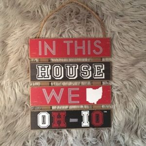 Other - Ohio State Wall Decor